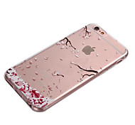 cheap -Case For Apple iPhone 8 iPhone 8 Plus iPhone 6 iPhone 6 Plus Transparent Back Cover Flower Soft TPU for iPhone 8 Plus iPhone 8 iPhone 7