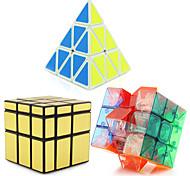 Недорогие -Кубик рубик Pyramid Чужой Зеркальный куб 3*3*3 Спидкуб Кубики-головоломки головоломка Куб профессиональный уровень Скорость Башня Новый