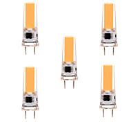 ywxlight® 5w g8 led luci bi-pin 1 pannocchia 350-450 lm bianco caldo bianco freddo dimmerabile ac 220-240 / 110-130 v