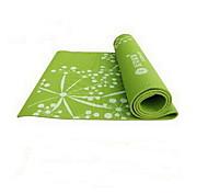 PVC Йога коврики 173*61*0.8 Экологию / Без запаха 3.5 mm Розовый / Зеленый / Фиолетовый No