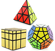 cheap -Rubik's Cube Shengshou Pyramid Alien Megaminx Mirror Cube Smooth Speed Cube Magic Cube Puzzle Cube Professional Level Speed New Year