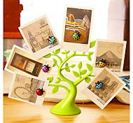 Недорогие -Животные Наклейки 3D наклейки Наклейки на холодильник / Фото наклейки,塑料 материал Съемная Украшение дома Наклейка на стену