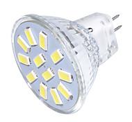 Недорогие -GU4(MR11) Точечное LED освещение MR11 12 светодиоды SMD 5733 Декоративная Тёплый белый Холодный белый 250lm 3000/6000K 9-30V
