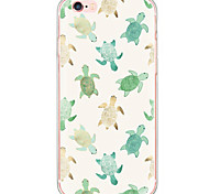 cheap -Case For Apple iPhone X iPhone 8 iPhone 6 iPhone 6 Plus Dustproof Shockproof Pattern Back Cover Animal Hard PC for iPhone X iPhone 8 Plus