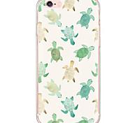 Недорогие -Кейс для Назначение Apple iPhone X iPhone 8 iPhone 6 iPhone 6 Plus Защита от пыли Защита от удара С узором Кейс на заднюю панель Животное