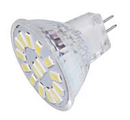Недорогие -GU4(MR11) Точечное LED освещение MR11 15 светодиоды SMD 5733 Декоративная Тёплый белый Холодный белый 350lm 3000/6000K 9-30V