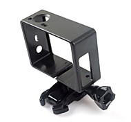 Smooth Frame Anti-Shock Convenient For Action Camera Gopro 6 Gopro 4 Gopro 3 Gopro 3+ Gopro 2 Bike/Cycling ABS