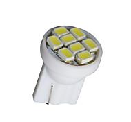 Недорогие -20 шт чистый белый T10 клин 8-SMD W5W 168 194 2825 175 Светодиодное внутреннее лампочки