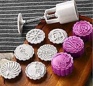 Недорогие -Формы для пирожных Шоколад Печенье пластик Инструмент выпечки
