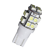 10 PCS Xenon White Wedge T10 20-SMD LED Light bulbs W5W 2825 158 192 168 194 12V