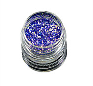 1 Bottle Nail Art Match Color Highlight Glitter Shining Colorful Powder Nail Makeup Beauty 09