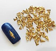 Недорогие -100 pcs Украшения для ногтей металлический / Классика Повседневные Дизайн ногтей / Металл