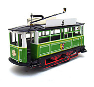 The Car Wind-up Toy Leisure Hobby  Metal Green  Yellow For Kids