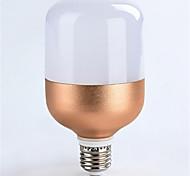 1pc 18w e27 1600lm холодный белый цвет светодиодный прожектор глобус освещение розового золота оболочки (ac160-265v)