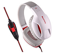 Sades SA-808 LED Lighting USB HIFI Stereo Surround Sound Over-Ear Headphone Headset with Microphone for PC Laptop Mac