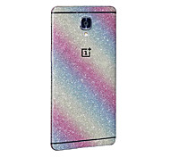Luxury Bling 360 Degree Full Body Sticker Case for One Plus 3 Cases Cover Colorful Glitter Back Film Decal