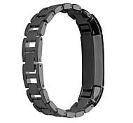 Schwarz / Rosa / Rose / Gold / Silber Edelstahl Klassische Schnalle Für Fitbit Uhr 10mm