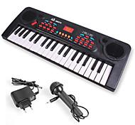 Instrumentos de juguete Teclado electrónico Instrumentos musicales de juguete Juguetes 1 Piezas Niño Año Nuevo Día del Niño Cumpleaños