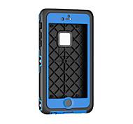 Для Кейс для iPhone 6 / Кейс для iPhone 6 Plus Водонепроницаемый / Вода / Грязь / Надежная защита от повреждений Кейс для Чехол Кейс для