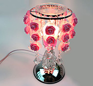 1PC Roses Sweet Lamp Aing Kind Of Decorated Gift Desk Lamp Touch-Sensitive Essence Oil Lamp Plugged Into Electricity