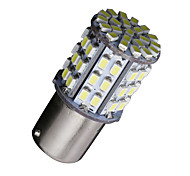 cheap -2X Ba15s 1156 Bright White 64 SMD Car RV Tail Brake Backup Reverse LED Bulbs 12V