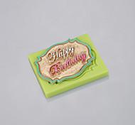 Недорогие -ручная мыльная плесень из силиконового помадного торта украшения инструменты шоколадная форма пищевая продукция рамон цвет