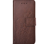 Campanula Embossed PU Leather Material Leather  for Huawei P8 P8 Lite P9 P9 Lite Mate 8
