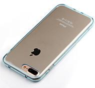 Назначение iPhone X iPhone 8 Чехлы панели Other Чехол Кейс для Сплошной цвет Мягкий Термопластик для Apple iPhone X iPhone 8 Plus iPhone