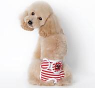 Недорогие -Собака Брюки Одежда для собак Морской Черный Красный Синий Хлопок Костюм Для домашних животных Муж. Жен. На каждый день