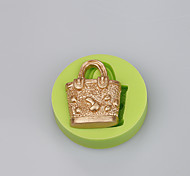 Hand Bag Shape Cake Silicone Mold For Fondant Cake Chocolate Ramdon Color