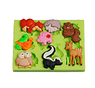 cheap -Mold Animal For Candy For Chocolate For Pie For Cake Silicone Eco-friendly DIY High Quality