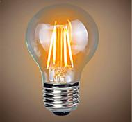 1 stücke 4 watt e26 / e27 led glühbirnen a19 4 leds cob dekorative dimmbar warmweiß 300-350lm 2300-2800 k ac 220-240 v
