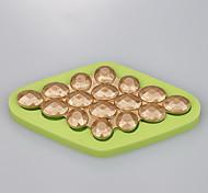 Горячий новый дизайн драгоценный камень бриллиант украшение торт шоколад фондант плесень цвет случайный