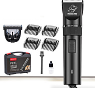 cheap -Cat Dog Grooming Clipper & Trimmer Waterproof Low Noise Electric Rechargeable Black