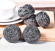 Set Of 4 Steel Wool Steel Wire Ball  Fighting Kitchen Stubborn Stains