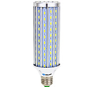 cheap -25W E14 B22 E26/E27 LED Corn Lights T 140 SMD 5730 2500 lm Warm White Cold White K Decorative AC 85-265 V