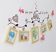 cheap -5PCS Original Europea-Style Cozy Holiday Gift Family Bureaux Counter Decorations Photo Frame