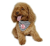 cheap -Dog Bandanas & Hats Dog Clothes Sailor Red Blue Cotton Costume For Pets Men's Women's Holiday Fashion