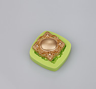 Soft silicone cake mold fondant decorating jewelry shape Soap Mold Color Random