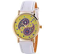 Ladies Fashion Girl Quartz Watch Clock Women Leather Casual Dress Women's Flower Wristwatch Cool Watches Unique Watches