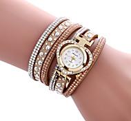 Женские Модные часы Часы-браслет Повседневные часы / Кварцевый PU Группа Heart Shape Cool Повседневная Элегантные часыЧерный Белый Синий