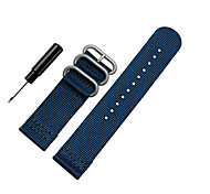 cheap -20mm Nylon Fabric MOD Watch Strap Band for Samsung Gear S2 Classic