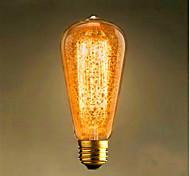 ST64 e27 60w 350-450ml amarillo cálido bar retro retro bombilla decorativa