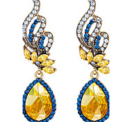 May Polly Diamond shining gem crystal drops and Fashion Earrings