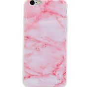 Pink Marble Pattern IMD Crafts TPU Material Soft Phone Case for iPhone 7Plus 7 6s 6 Plus SE 5s 5