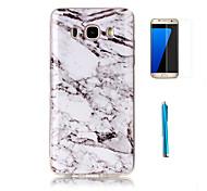 cheap -Case For Samsung Galaxy J7(2016) J3(2016) Pattern Back Cover Marble Soft TPU for J7 (2016) J7 J5 J3 (2016) Grand Prime