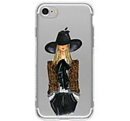Cowboy Girl TPU Case For Iphone 7 7Plus 6S/6  6Plus/6S Plus