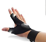 Недорогие -Перчатки для рыбалки Перчатки для велосипедистов Светодиодные фонарики Водонепроницаемость Дышащий Стреч Многофункциональный Спандекс