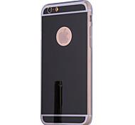 Недорогие -Для Кейс для iPhone 7 / Кейс для iPhone 6 / Кейс для iPhone 5 Покрытие / Зеркальная поверхность Кейс для Задняя крышка Кейс для Один цвет