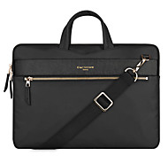 "cheap -Bag for Macbook 13"" Macbook Air 13"" Solid Color Textile Material Universal Backpack Single Shoulder Laptop Bag Briefcase File Package Leisure Bag"